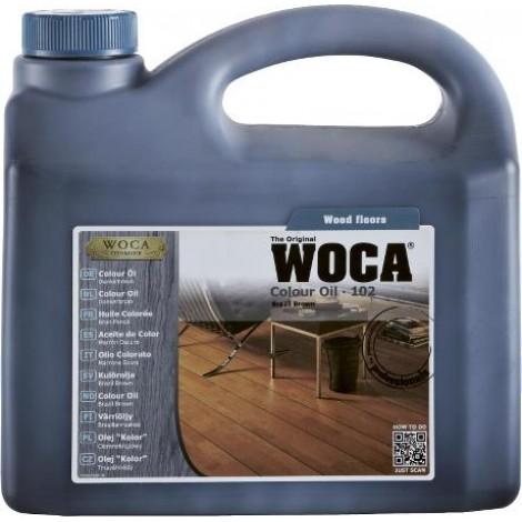 COLOUR OIL 102 - 2,5 liter - Donker bruin