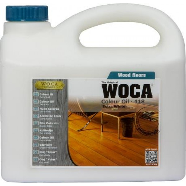 COLOUR OIL 118 - 1 liter - Extra wit 13%