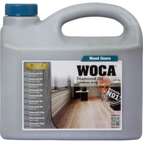 Diamond oil Concrete Grey - 2.5 liter
