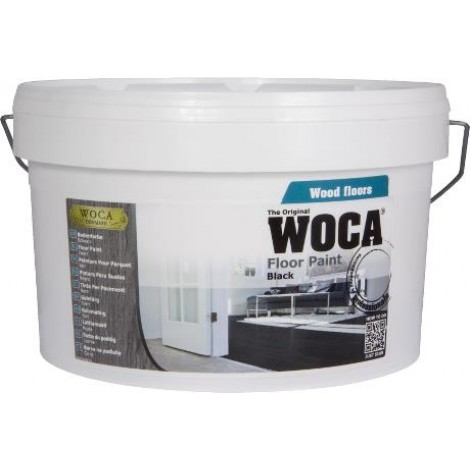 FLOOR PAINT Zwart - 2,5 liter