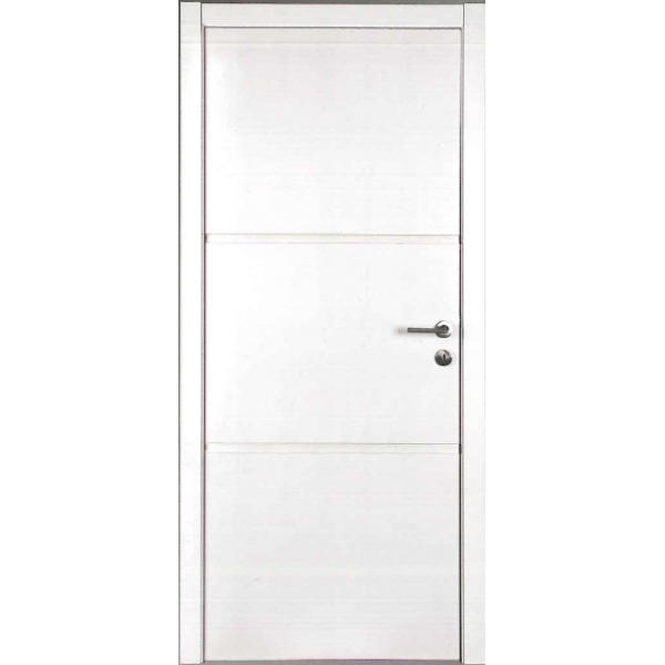 Wit gelakte deur