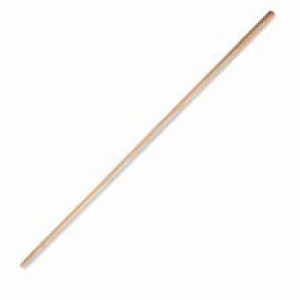 Borstelsteel in hout - 140cm - Ø23,5mm